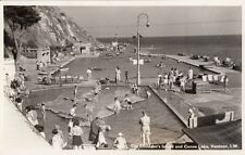 VENTNOR ( Isle of Wight) : The Children's Island and Canoe Lake RP-NIGH