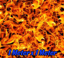 HYDROGRAPHIC WATER TRANSFER PRINTING HYDRO DIP FILM GRAPHIC Flames fire dipping