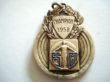 MEDAILLE SPORT FOOT FSGT 1958 COUPE LAGRANGE