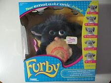 2005 Emototronic Furby doll, black w/tan belly, Brand New Sealed, needs batt.