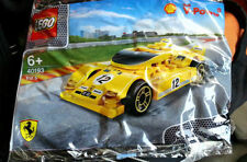 Sealed ! SHELL LEGO V-Power Ferrari 40193 Ferrari 512 S Yellow Racer