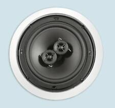 "NEW 6.5"" Ceiling Single Stereo Speaker.DVC 6-1/2"" in-wall Flush Mount.9"" frame"