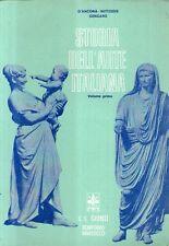 DT Storia dell'arte italiana Vol. I Giunti Marzocco 1969