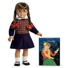 "American Girl MOLLY DOLL &  BOOK 18"" DOLL friend of EMILY doll SAME DAY SHIPPING"