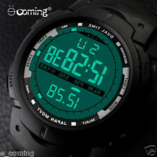 Men LED Digital Military Watch, 50M Dive Swim Dress Sports Watches Fashion Brand