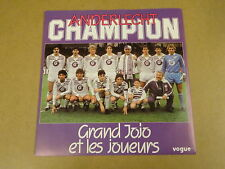 FOOTBALL VOETBAL 45T SINGLE / ANDERLECHT CHAMPION