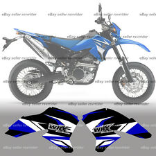 radiator shroud decals for yamaha wr250x wr 250x motard