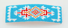 Native American Navajo Handmade Beaded Hair Barrette