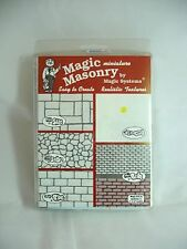 Dollhouse Miniature Magic Masonry Adobe Red Stucco Mix Kit 2.5 Sq Ft