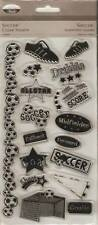 TPC STUDIO Clear Stamps ***93472 SOCCER/VOETBAL***