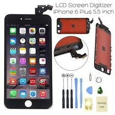 "New IPhone 6 Plus 5.5"" Black LCD Digitizer Screen Assembly Replacement Frame USA"