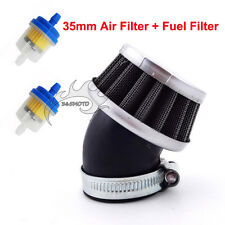 Bent Air Filter 35mm For 50cc 70cc 90 110cc Engine Carby Pit Dirt Trail Bike ATV