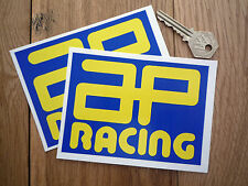 AP RACING V2 Car STICKERS 120mm Pair Toleman McLaren Cosworth Tecno Lotus Race