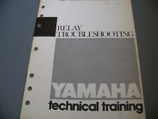 Yamaha Factory Technical Training 1985 Realy Troubleshooting 5Pg.