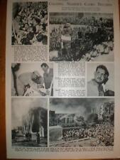 Muslim Brotherhood attempt on Nasser's Life Egypt 1954