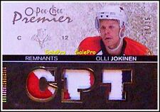 OPC PREMIER 2007 OLLI JOKINEN NHL PANTHERS REMNANTS TRIPLE GAME JERSEY 3C /35