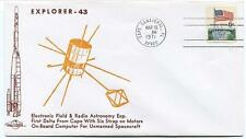 1971 Explorer 43 Electronic Field Radio Astronomy Unmanned Spacecraft Satellite
