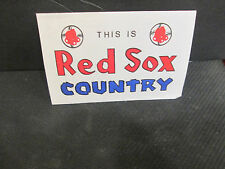 MLB-BOSTON RED SOX COUNTRY-1988 SPRING TRAINING SCHEDULE @ WINTER HAVEN