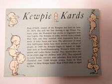 Kewpie Doll Card Book Kewpie Kards Postcard Book Vintage Posctards