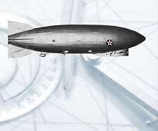 "RADIO CONTROL MODEL  53"" DIRIGIBLE PLANS & Data BUILD YOUR OWN USS LOS ANGELES"