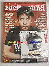 rivista ROCK SOUND 18/1999 + CD Foo Fighters + POSTER Marilyn Manson Rancid Lit