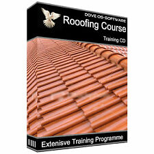 ROOFERS ROOFING COURSE TRAINING COURSE FELT DIY CD BOOK