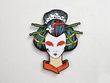 Japan Geisha - Wall Clock