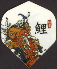 Lucky Japanese Koi Dart Flights: 3 per set