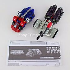 "Transformers Titanium 6"" Series War Within Optimus Prime Vs. Megatron"