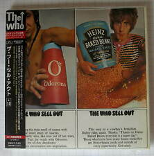 THE WHO - Sell Out + 10 REMASTERED JAPAN MINI LP CD NEU! POCP-9195