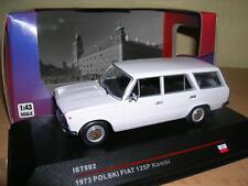 Ixo 1973 Polski Fiat 175P / 125 P Kombi Modell 1973 hellgrau Light Grey 1:43