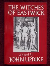 """JOHN UPDIKE signd 1984 BOOK """"THE WITCHES of EASTWICK"""" -BOOK-OF-THE-MONTH -1st ED"""