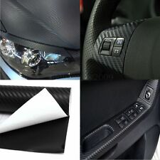 2mx 300mm 3D Carbon Fiber Vinyl Wrap Film Sticker Car Body / Interior Decoration