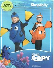 SALE! SEWING PATTERN! MAKE FINDING DORY~NEMO COSTUMES! HALLOWEEN! BOY~GIRL 1/2~4