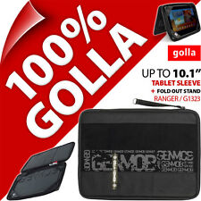 "New Golla Tablet Sleeve Bag Padded Carry Case With Stand Fits 10.1"" Ipad 3 / 4"
