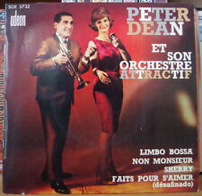 PETER DEAN ET SON ORCHESTRE ATTRACTIF CHEESECAKE RETRO COVER FRENCH EP