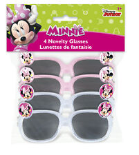 MINNIE MOUSE Bow-Toons SUNGLASSES (4) ~ Birthday Party Supplies Favors Novelty