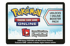 10x Pokemon Boundaries Crossed Code Cards for Pokemon TCG Online Booster Packs