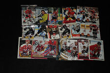 LOT OF (20) LEGENDARY HOCKEY PLAYERS STARS SIGNED AUTOGRAPHED HOCKEY CARDS HOF+