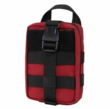 CONDOR MOLLE 191031-010 Rip-Away EMT Lite Nylon Pouch RED IFAK medical First Aid
