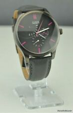New Stylish 100% Original Unisex Men Watch GUESS Black Leather New U12639G1