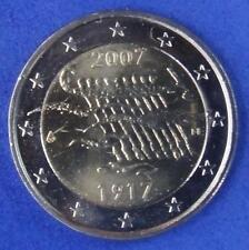 """FINNLAND  -  2 EUROS Gedenkmünzen 2007  """" Finland's Independence """""""