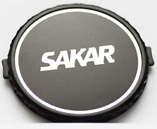 Original Sakar Front Lens Cap 62mm 62 mm Snap-on