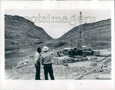 1959 Oil Drilling Site Little Makhtesh Negev Desert Israel  Press Photo