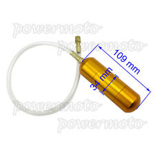 Gold Aluminum Boost Power Bottle For 50cc 60cc 80cc Motorized Bicycle Push Bike