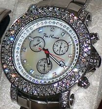 New Authentic Mens JOJO Joe Rodeo Junior 6.00Ct.aprx.real diamond watch. jju10