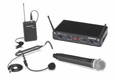 Samson Concert 288 All-In-One Handheld/Lavalier/Headset Wireless Microphone - H