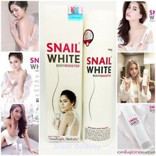Body Cream Snail White Booster Lotion Whitening Skin Smooth Brighter Younger 201