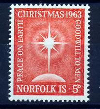 NORFOLK ISLAND 1963 CHRISTMAS SG50 MNH