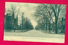 PENNSYLVANIA- ERIE, WEST SIXTH ST., FROM THE PARK  POSTCARD 4758